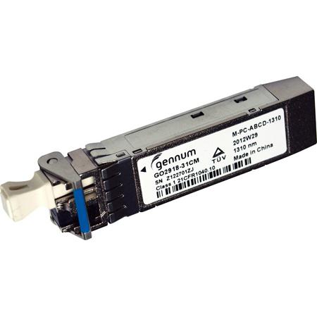 AJA FIBERLC-2-TX Dual LC 3G Fiber Transmitter SFP