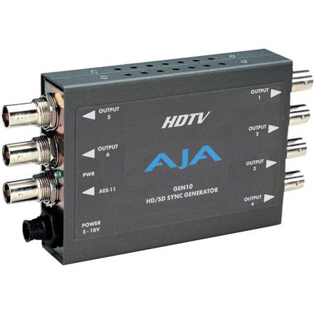 AJA GEN10 SD/HD/AES Sync Generator