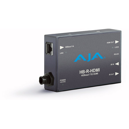 AJA HB-R-HDMI Ethernet to HDMI Receiver