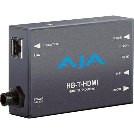 AJA HB-T-HDMI 4K HDMI to HDBaseT Transmitter/Mini-Converter