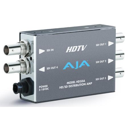 AJA HD5DA 1x4 High Definition Video Distribution Amplifier
