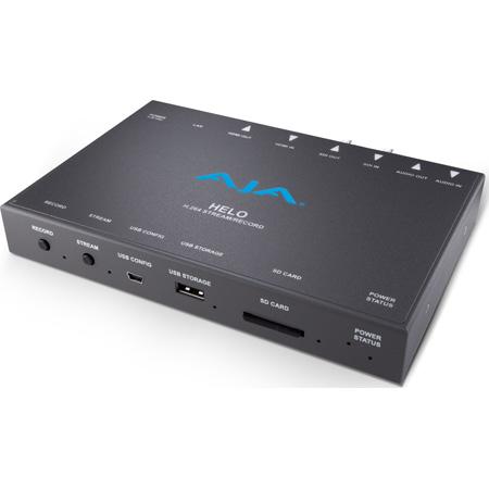 AJA HELO H.264 Recorder/Streamer - SDI and HDMI I/O