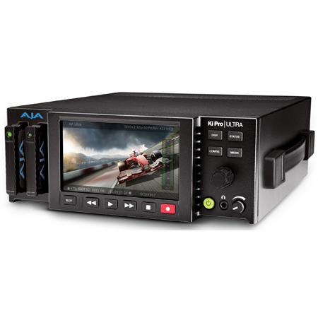 AJA Ki Pro Ultra 4K/UltraHD and 2K/HD Recorder/Player with 4K 60p & Avid MXF Support