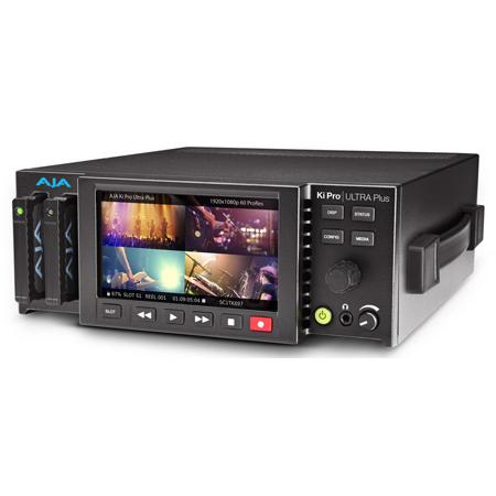 AJA Ki Pro Ultra Plus Multi-Channel HD Recorder 4K/UltraHD/2K/HD Recorder and Player