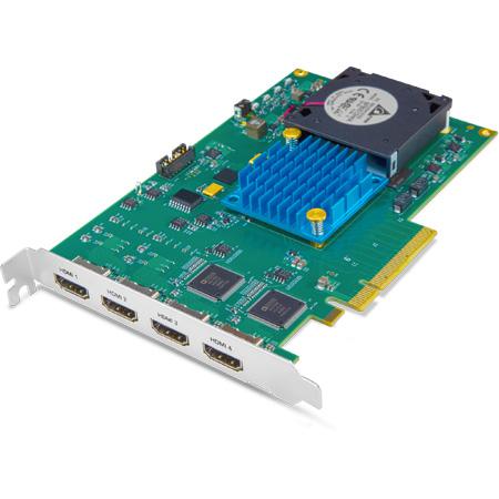 AJA KONA HDMI 8-lane PCIe 2.0 Multi-Channel HDMI Capture Card