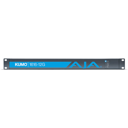 AJA Kumo 1616-12G 16x12G-SDI Router