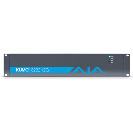 AJA Kumo 3232-12G Compact 32x32 12G-SDI Router for 8K/4K/2K/HD