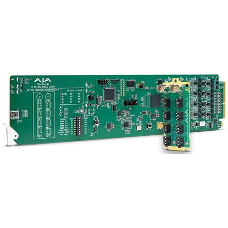 AJA OG-3G-AMA OpenGear 8-Channel Analog Audio Embedder/Disembedder