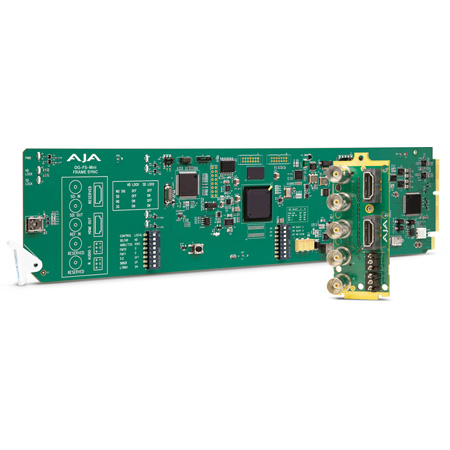 AJA OG-FS-MINI 3G-SDI Frame Synchronizer with DashBoard Support