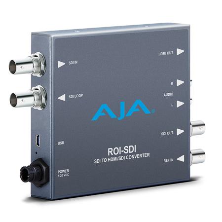 AJA ROI-SDI 3G-SDI to HDMI/3G-SDI Scan Converter with Region of Interest Scaling