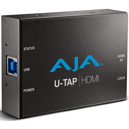 AJA U-TAP HDMI  USB 3.0 Powered HDMI Capture