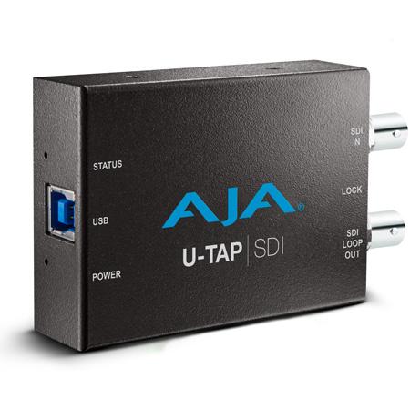 AJA U-TAP SDI 1080p/60 3G-SDI to USB 3.0 Capture Device