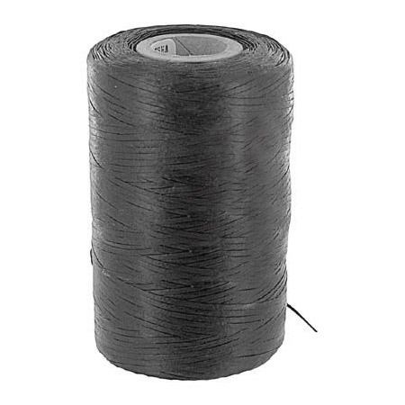 Black Waxed Nylon Cable Lacing Cord 500 Yard Roll