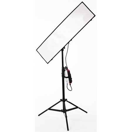 Aladdin AMS-FL200BIKITC VM - BI-FLEX4 Bi-Color LED Panel Kit with V-Mount and Soft Bag