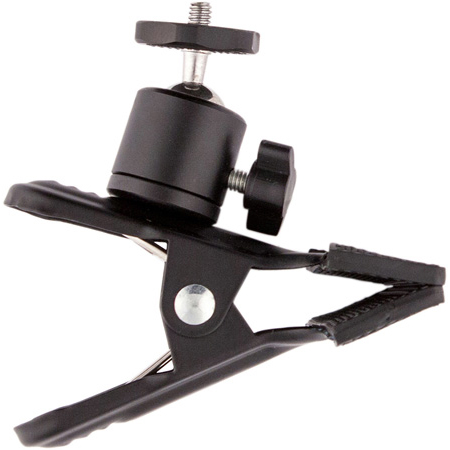 Aladdin AMS-FL40CLAMPPBH Clamp with Ball Head 1/4-20 in. for EYE-LITE / A-LITE / BI-FLEX1