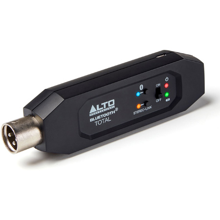 ALTO BTTOTALMK2 Bluetooth Total - XLR Equipped Rechargeable Bluetooth Streaming Receiver
