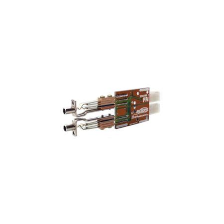 AVP AM-B-NN-E03 Dual Bantam Module 3 Pin EDAC No Normal (Green)