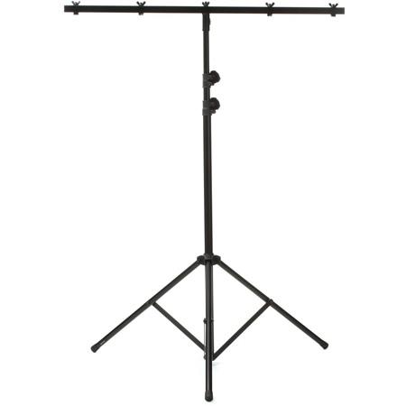 ADJ LTS-6 Nine Foot Black Tripod Light Stand with Cross Bar