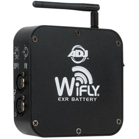 ADJ AMDJ-WIF013 DMX WiFly EXR Battery Powered Wireless DMX Transceiver