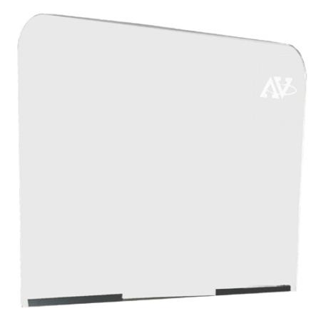 Amplivox S0002 Acrylic Lectern Safety Shield - 22 x 27.5 Inch