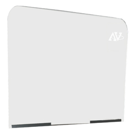 Amplivox S0003 Acrylic Lectern Safety Shield - 22 x 39 Inch