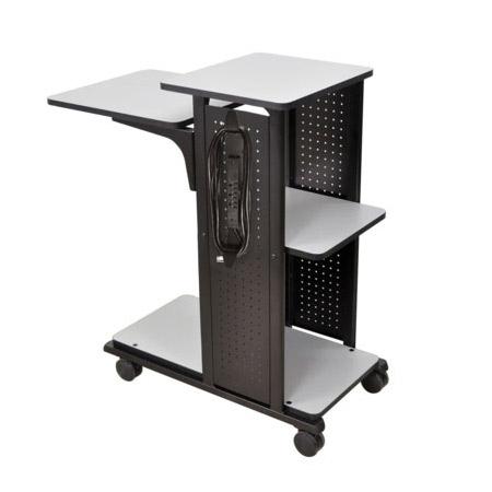 Amplivox SN3305 Mobile Presentation Station with laptop shelf