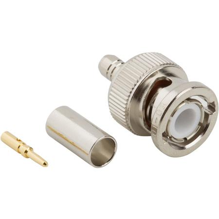 Amphenol 031-320 50 Ohm BNC Connector - BNC CR (M) RG-58/U; 141/U