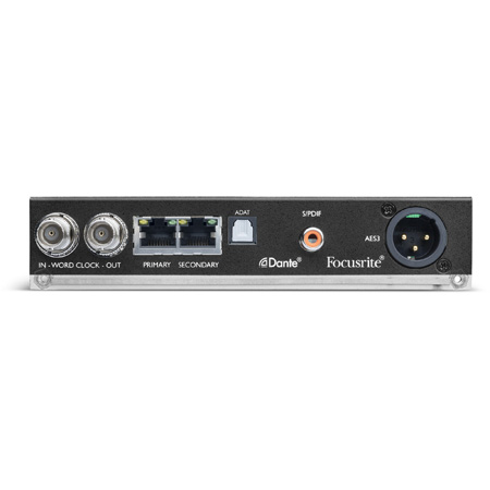 Focusrite AMS-ISA-ADN2 RedNet ISA ADN2 2 Channel A/D Card for ISA One