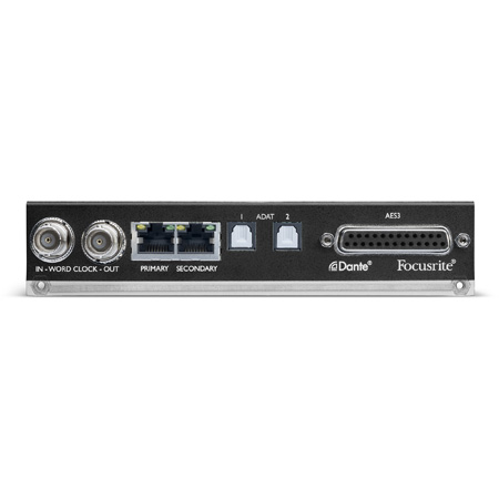 Focusrite AMS-ISA-ADN8 RedNet ISA ADN2 8 Channel A/D Card for ISA 428 MkII and 828 MkII