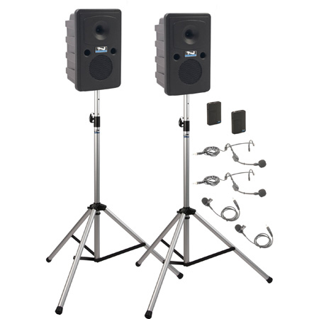 Anchor Go Getter Deluxe Air Package 2 w/ GG2XU2 GG-AIR 2 SS-550 2 WB-Link BPs w/ 2 Lapel & HS mics - Li-Ion