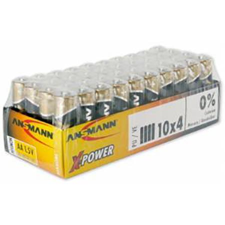 Ansmann 1521-0007 X-Power Premium Alkaline AAA - 40 Pack