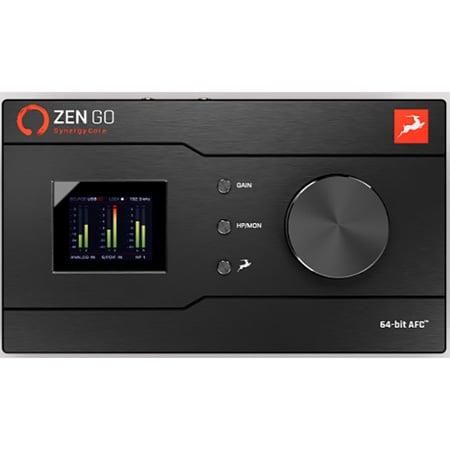 Antelope Audio Zen Go Synergy Core 4x8 Desktop Audio Interface with Bus-Powered USB-C and 1 FPGA & 2 DSP Processors