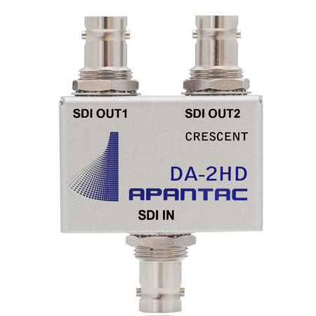 Apantac DA-2HD 1x2 Passive SDI Triple-Rate Distribution Amplifier