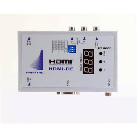 Apantac HDMI-DE HDMI Audio De Embedder w/Audio Delay up to 2700 ms