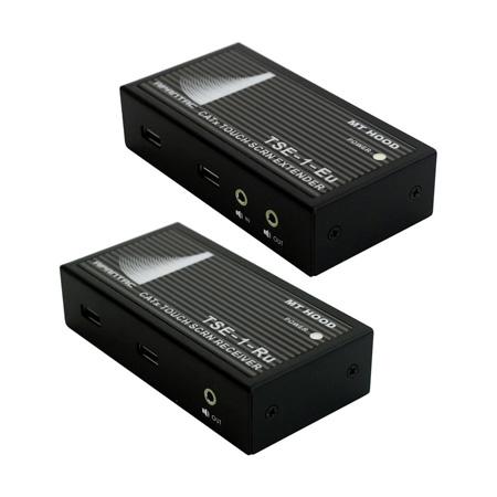 Apantac TSE-SET-2 Touch Screen Extender Pair (TSE-1-Eu Transmitter & TSE-1-Ru Receiver) Extends VGA Audio & USB