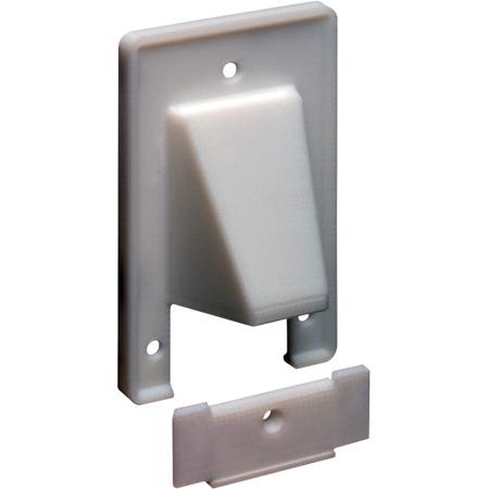 Arlington CER1 Reversible 2-Piece Low-Voltage Cable Entrance Wall Plate - White