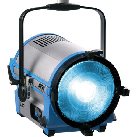 Arri L10-C Color LED Fresnel Stand-Mount - Blue/Silver
