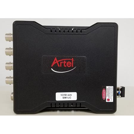 Artel 3312-KIT-B7L FiberLink 4K 12G/6G/3G/ASI LC Optical Fiber Extender/Transceiver Kit with 2x Transceivers/PSUs & SFPs