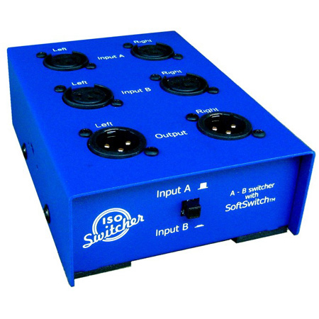 ARX ABS-1 Audibox XLR A/B Switcher Stereo Input Signal Switcher