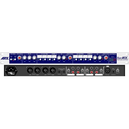 ARX Barmix 4 Input Multimedia Zone Mixer