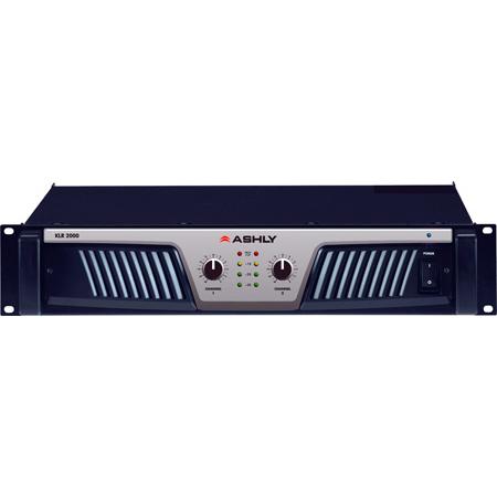 Ashly KLR-2000 2-Channel 1000W @ 2 Ohm / 600W @ 4 Ohm Power Amplifier
