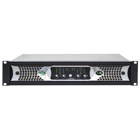 Ashly nXe1.54 Network Audio Power Amplifier with Ethernet - 4-Channel x 1500 Watts