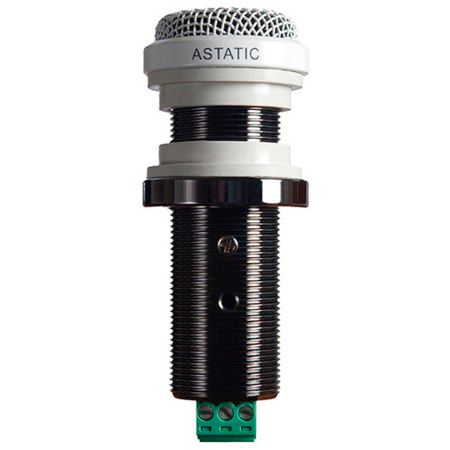 Astatic 210 Miniature Boundary Microphone with limiting