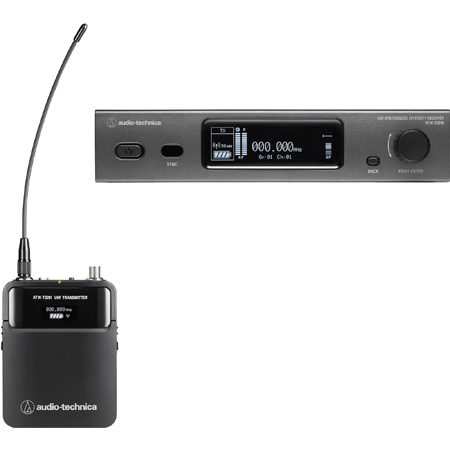 Audio Technica ATW-3211EE1 Wireless System with ATW-R3210 Receiver & ATW-T3201 Body-Pack Transmitter - 530-590 MHz