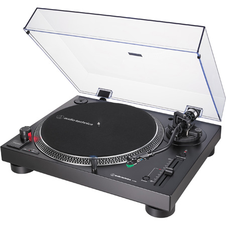 Audio-Technica AT-LP120XUSB-BK Direct-Drive Turntable - Analog & USB - Black