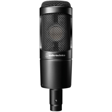 Audio-Technica AT2035 Cardioid Condenser Studio & Live Performance Microphone
