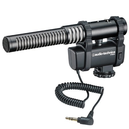 Audio-Technica AT8024 Stereo/Mono Camera-Mount Microphone