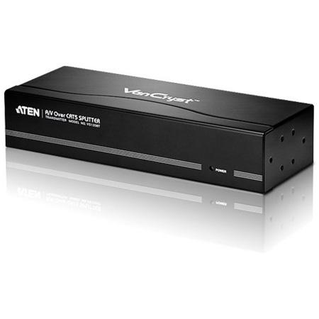 ATEN VS1208T 8-Port VGA A/V Over Cat 5 Extender / Splitter