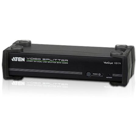 ATEN VS174 4-Port DVI Dual Link Splitter & Audio/RS232