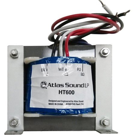 Atlas Sound HT600 Line Transformer 600 Watt